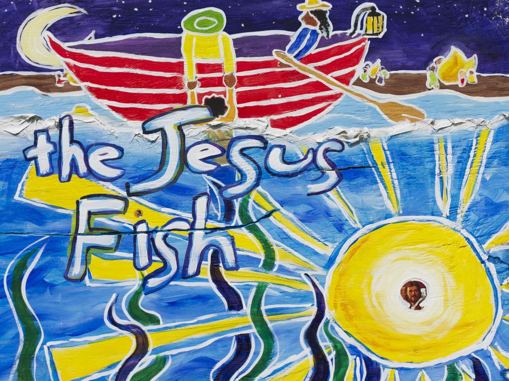 Jesus Fish - A Southern Mythological Short Film's video poster