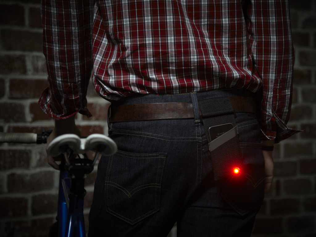 Monocle- Turn your iPhone 5,4 or 4s into a Bike Light's video poster