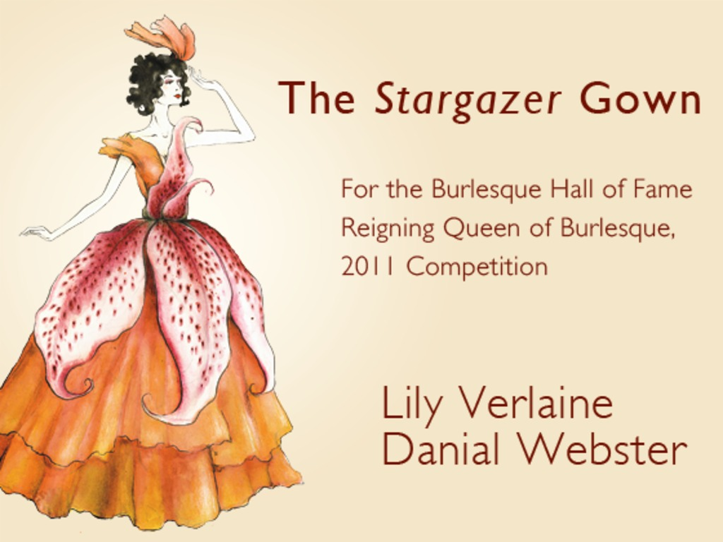 Lily Verlaine and Danial Webster: Stargazer Gown's video poster