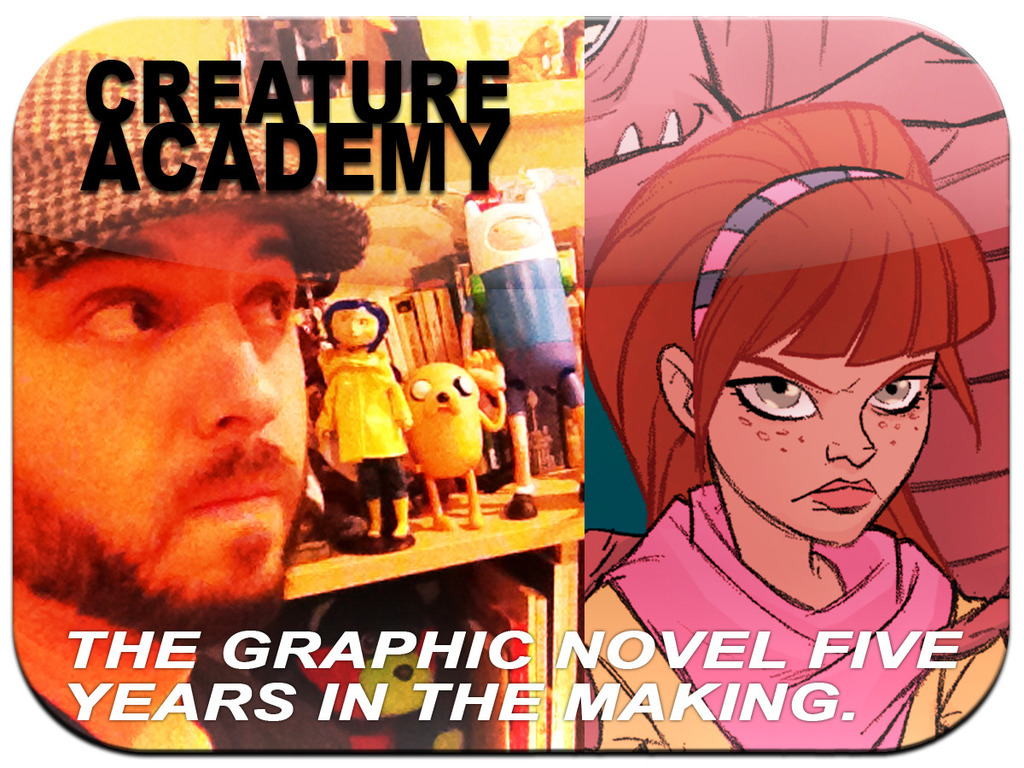 Creature Academy: The Legacy- a steampunk graphic novel's video poster