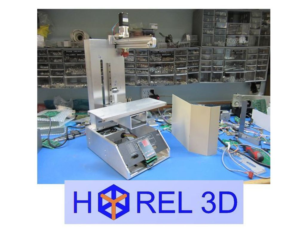 HYREL 3D Printer's video poster