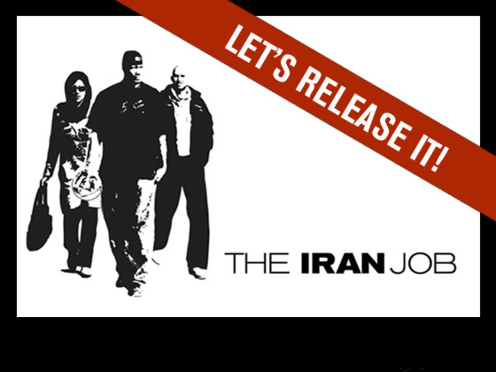 THE IRAN JOB - BRING IT TO A THEATER NEAR YOU!'s video poster