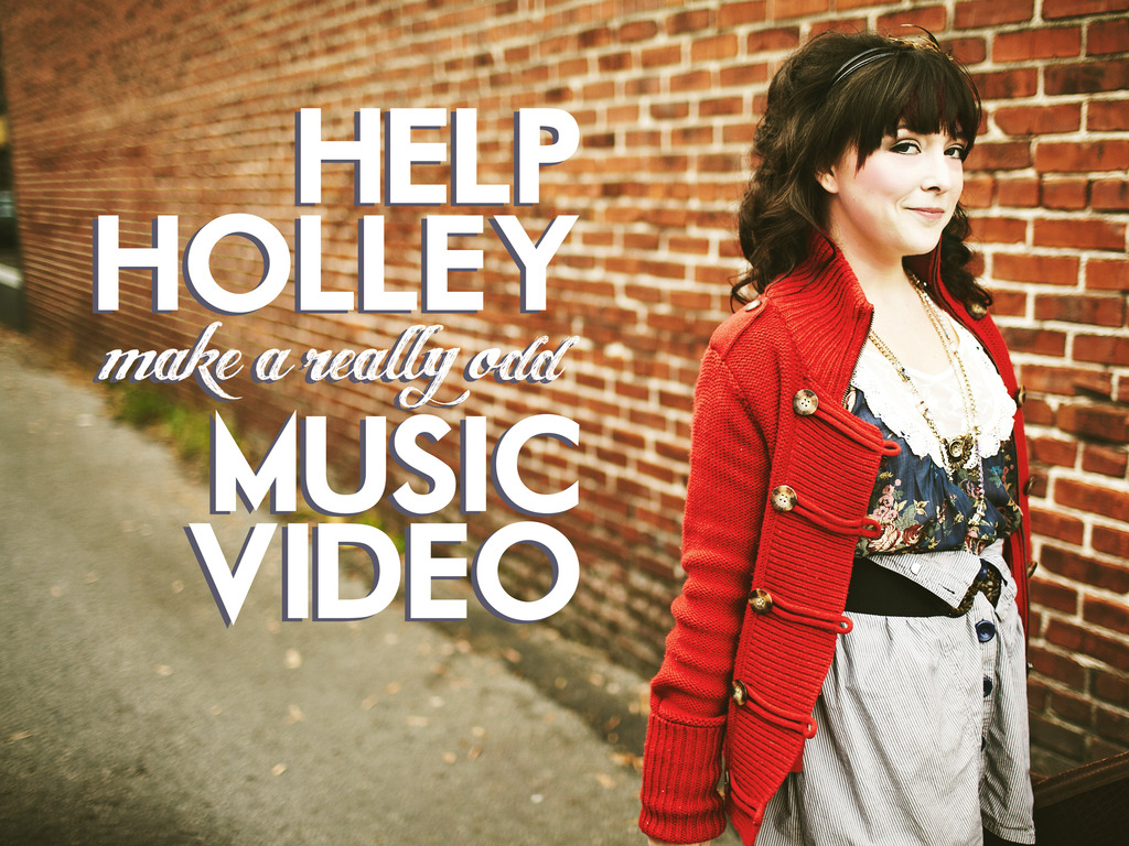 """Be a part of Holley Maher's """"Odd Place To Be"""" Music Video!'s video poster"""