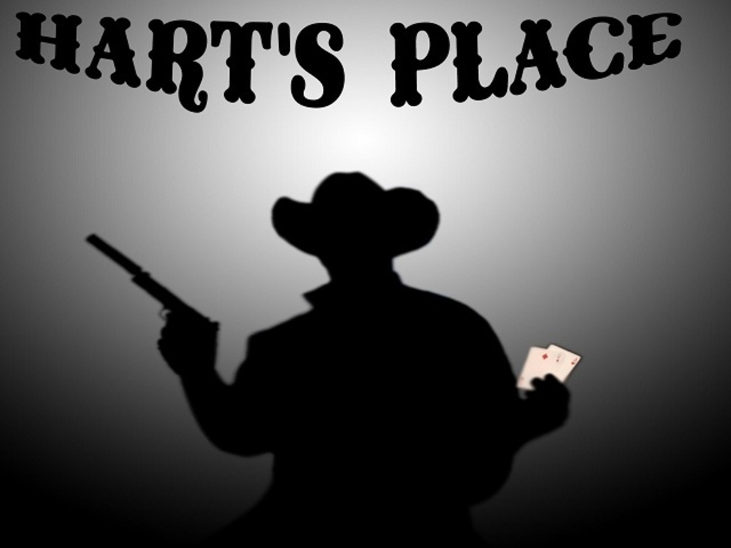 """""""Hart's Place"""" a 20th Century Crime/Western's video poster"""