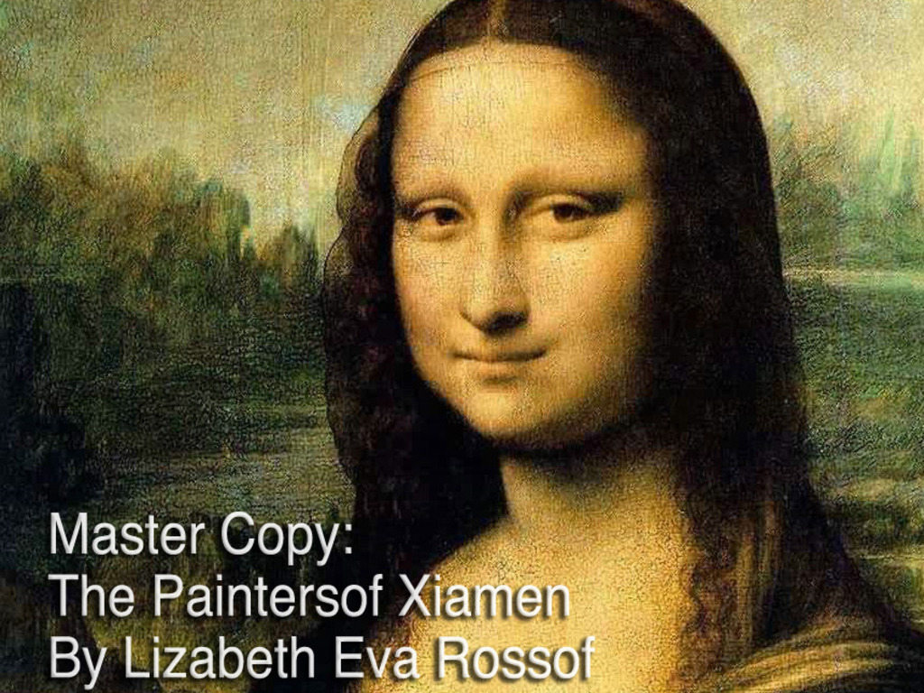 MASTER COPY: The Painters of Xiamen's video poster