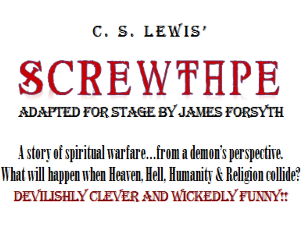 SCREWTAPE- A Devil of a Good Show!'s video poster