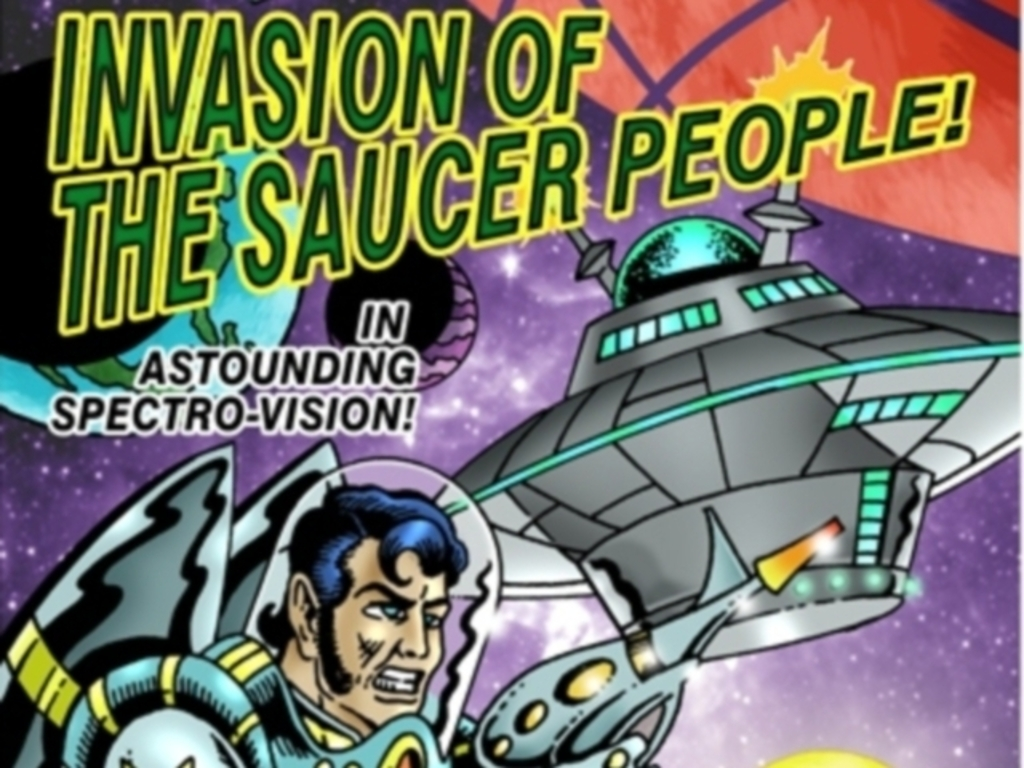Invasion of the Saucer People - Card Game's video poster