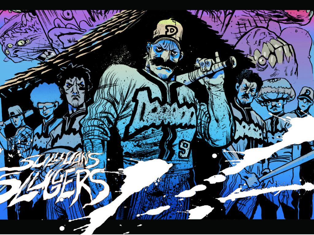 'Sullivan's Sluggers', Baseball Horror Graphic Novel Ext. KS's video poster