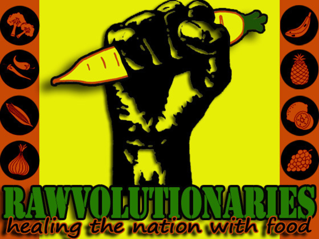 Rawvolutionaries: Healing the Nation with Food's video poster