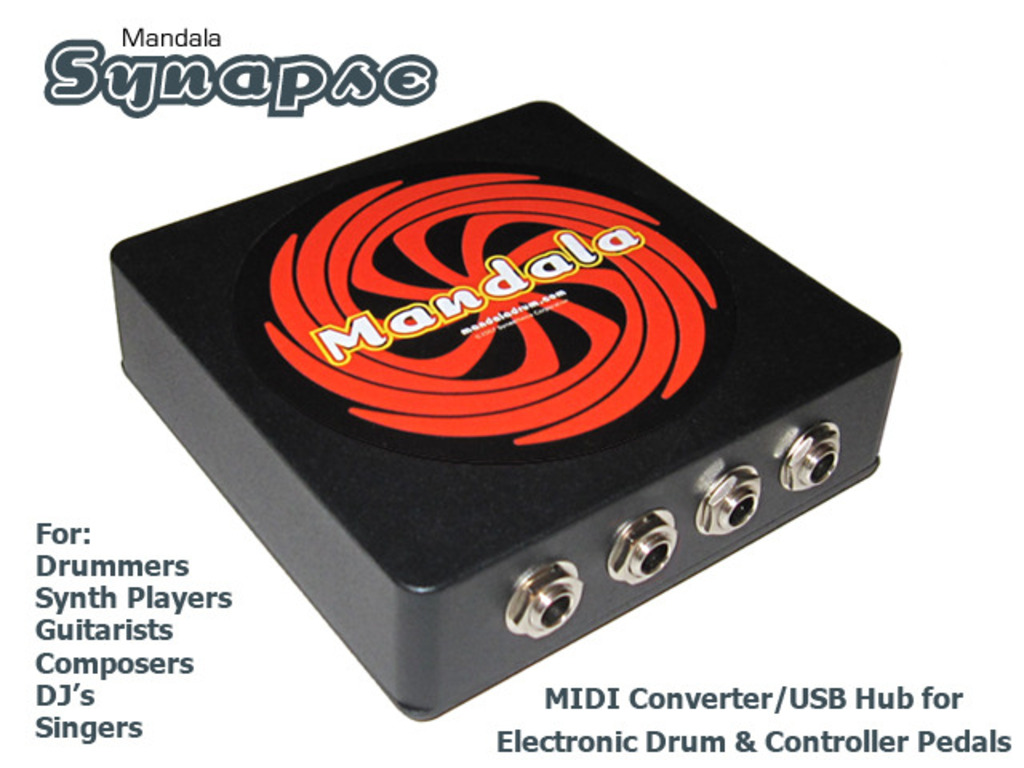 Synapse: eDrum & Controller Pedals to USB MIDI Converter+Hub's video poster
