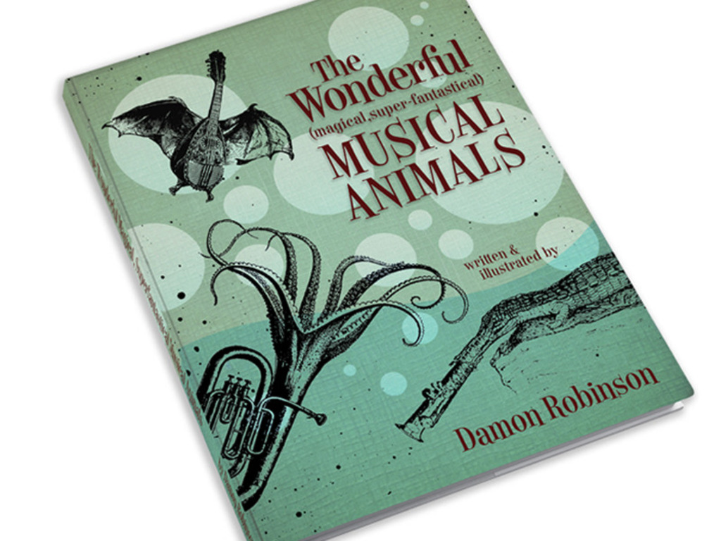The Wonderful Musical Animals Book and Prints's video poster
