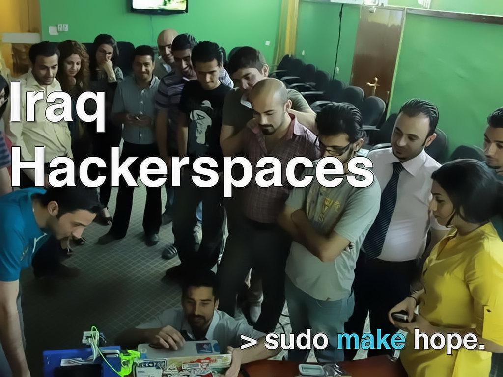 Baghdad Community Hackerspace Workshops's video poster