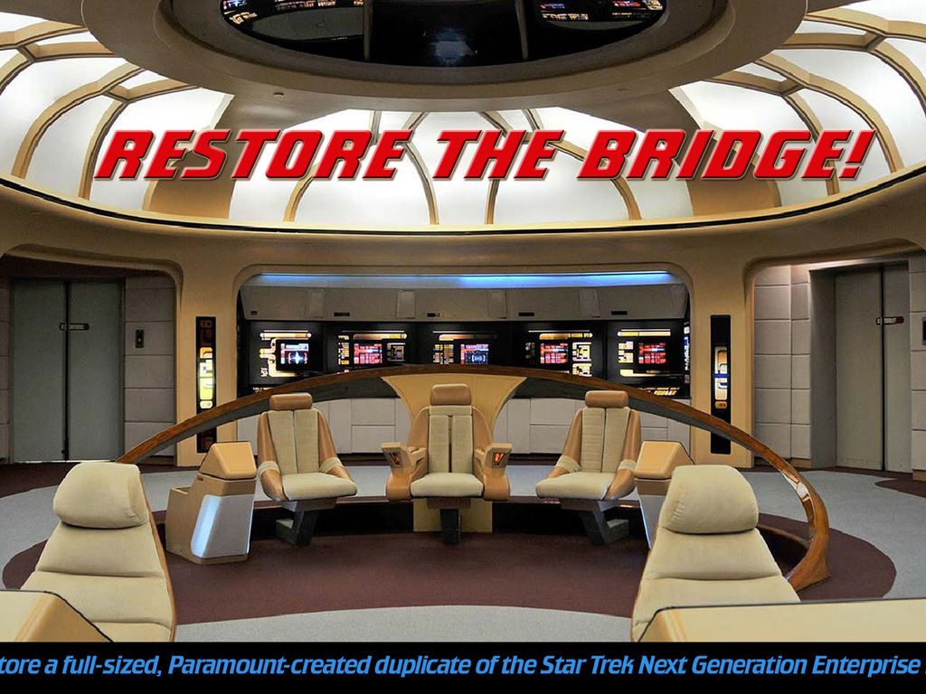 Star Trek Enterprise BRIDGE INTERACTIVE MUSEUM's video poster