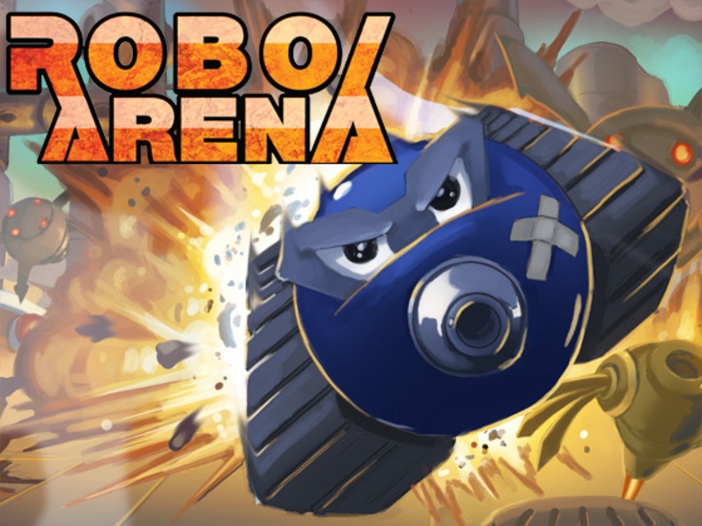 RoboArena- X-Com Inspired Multiplayer Game on iPhone's video poster