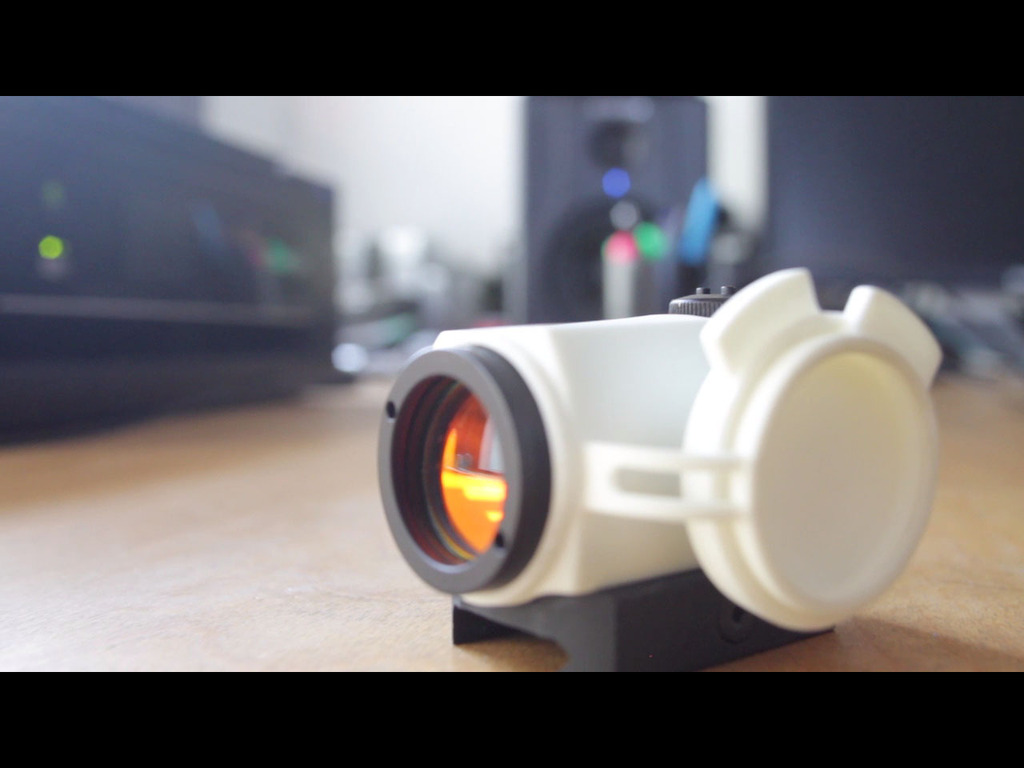 IO Cover: One-handed, Built-in Lens Caps for Micro Optics's video poster