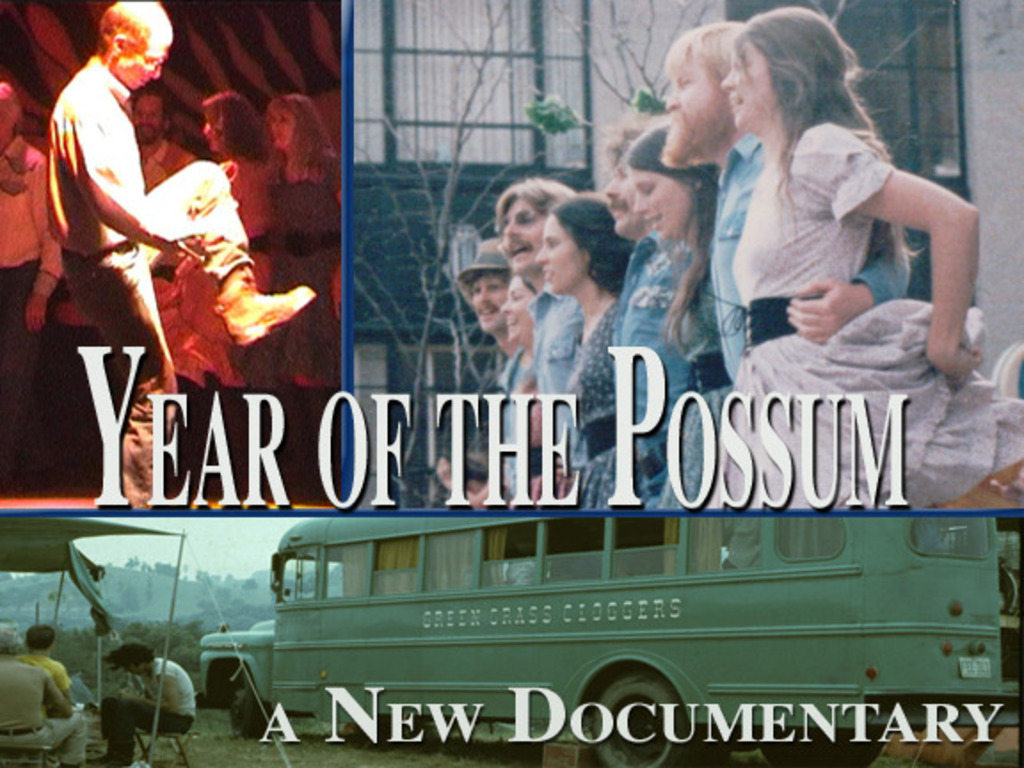 Year of the Possum: The Green Grass Cloggers' 40th's video poster