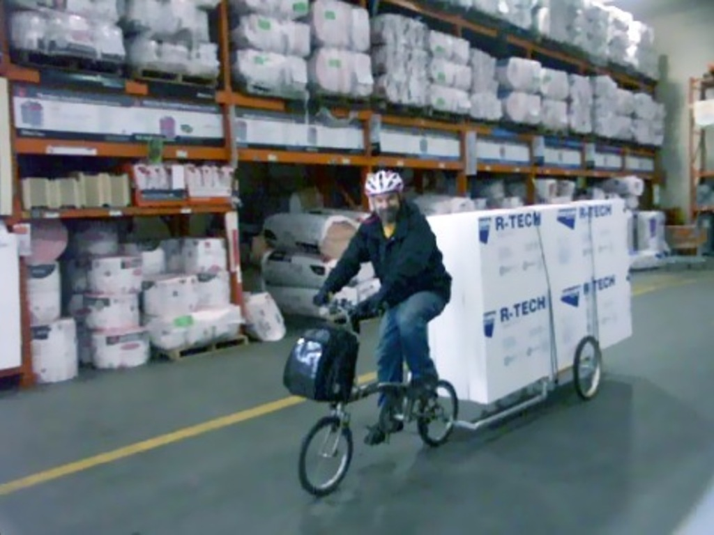 M.O.M.™- the magically morphing multi-use bicycle trailer!'s video poster