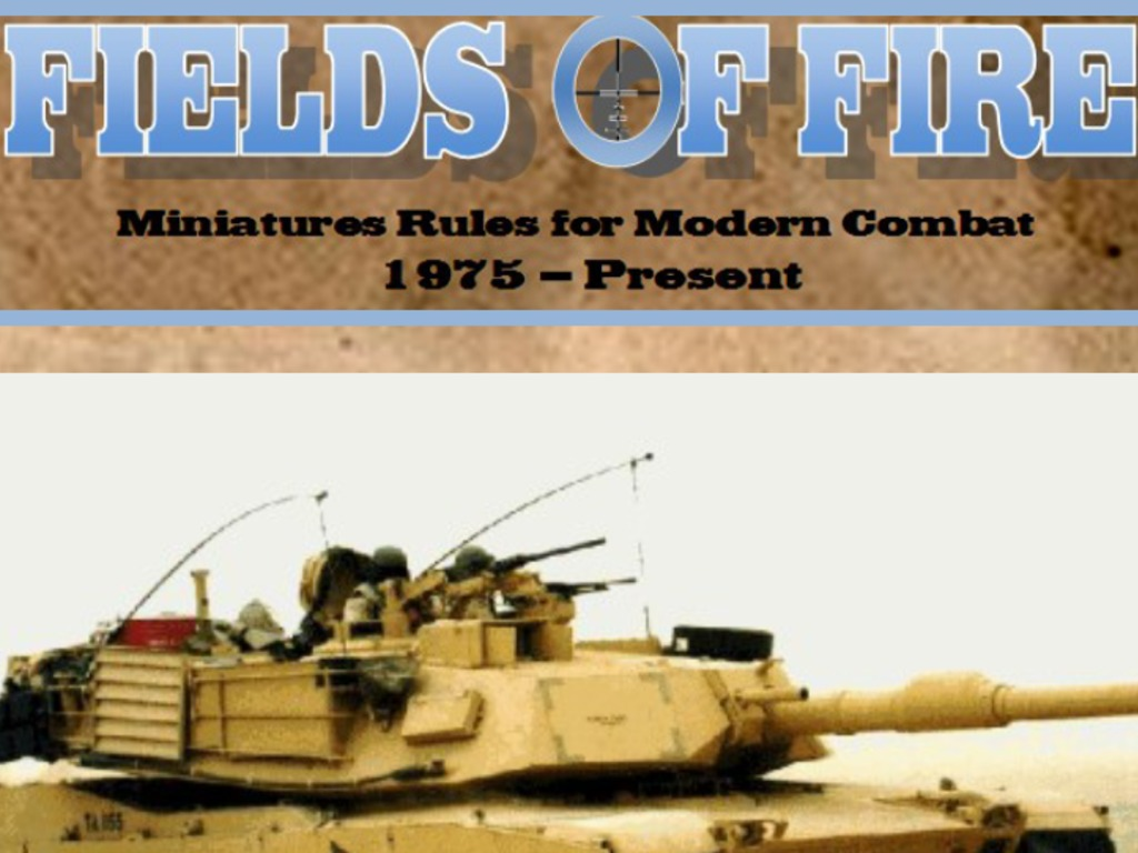 Fields of Fire: Miniatures rules for modern combat's video poster