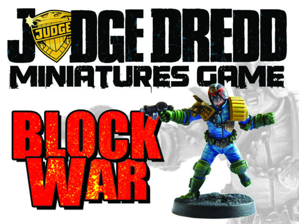 Judge Dredd Miniatures Game: Block War's video poster