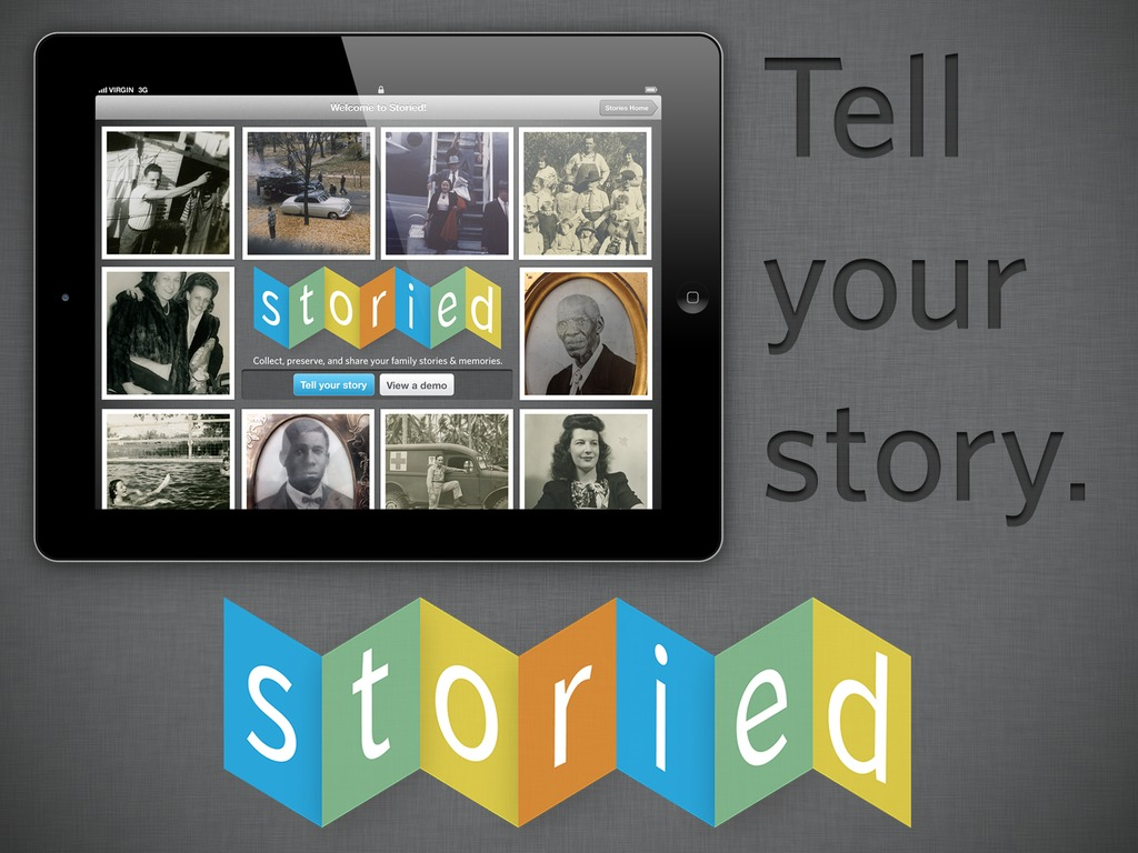 Storied: Capture and Share Family Stories's video poster