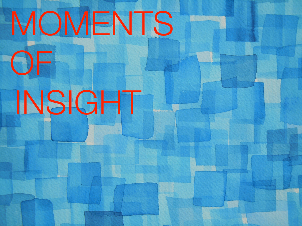 Moments of Insight's video poster