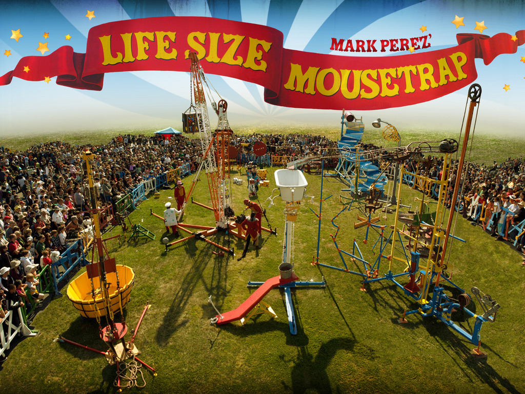 The Lifesize Mousetrap's 2011 tour powered by VEGETABLE OIL!'s video poster