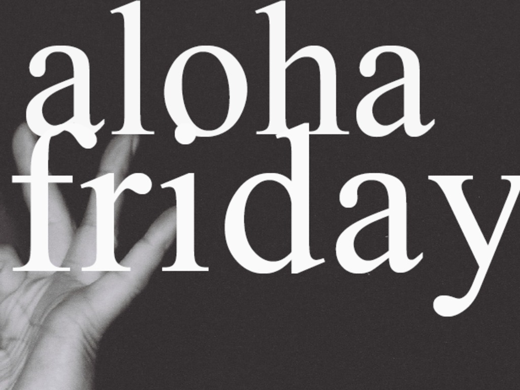 Aloha Friday #5's video poster