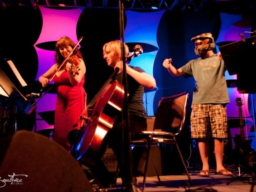 Videri String Quartet: classical quartet + video game music!'s video poster