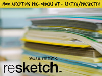 Resketch: a new kind of sketchbook