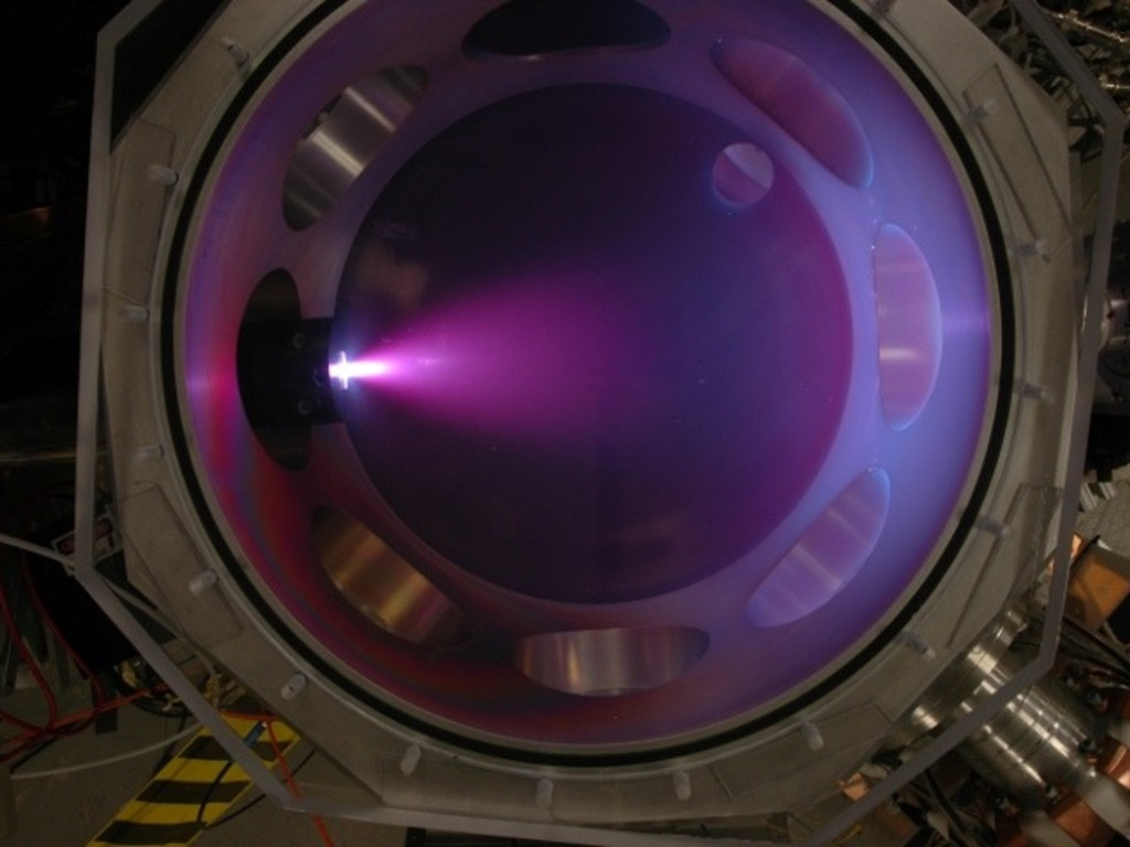 Plasma Jet Electric Thrusters for Spacecraft's video poster