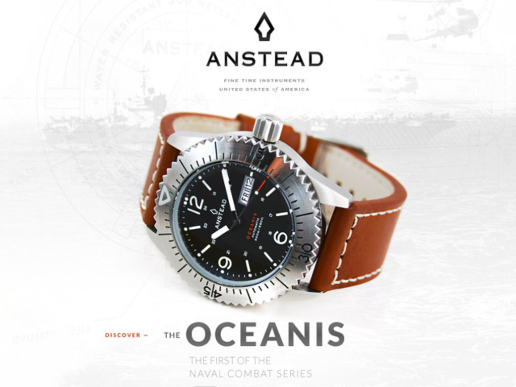 Anstead Watches: the OCEANIS's video poster