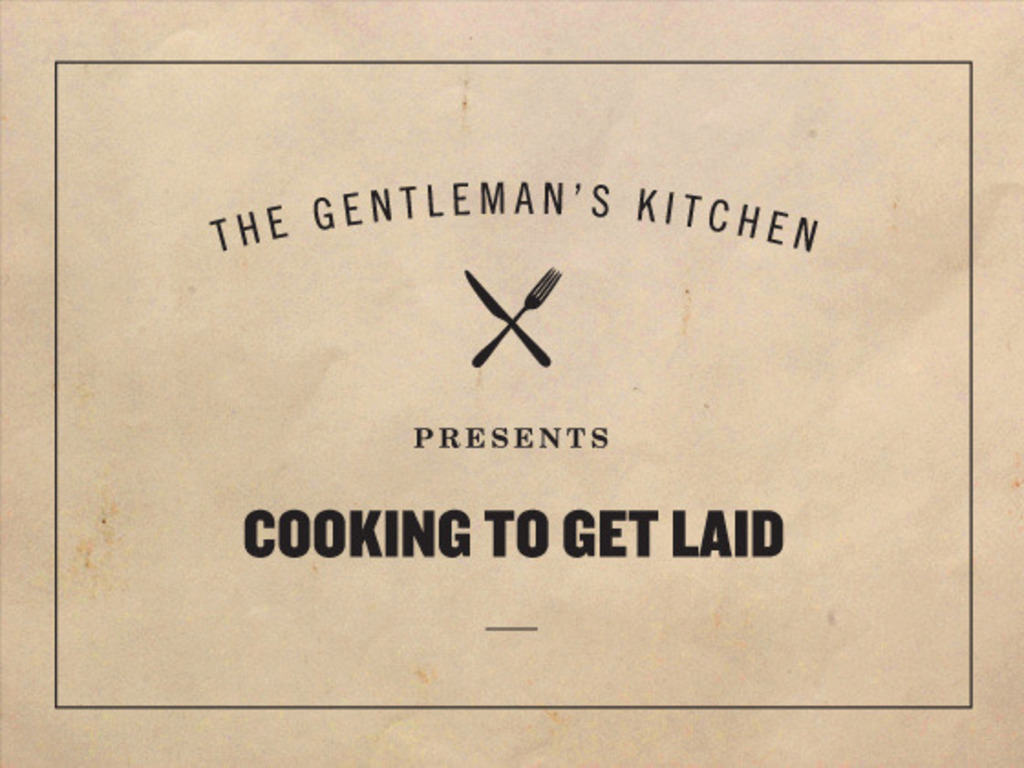 Cooking To Get Laid's video poster