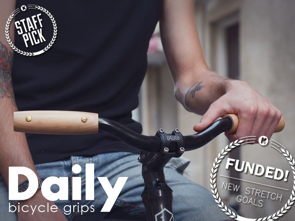Daily. Wood Bike Grips Redesigned to Feel Amazing Forever.'s video poster