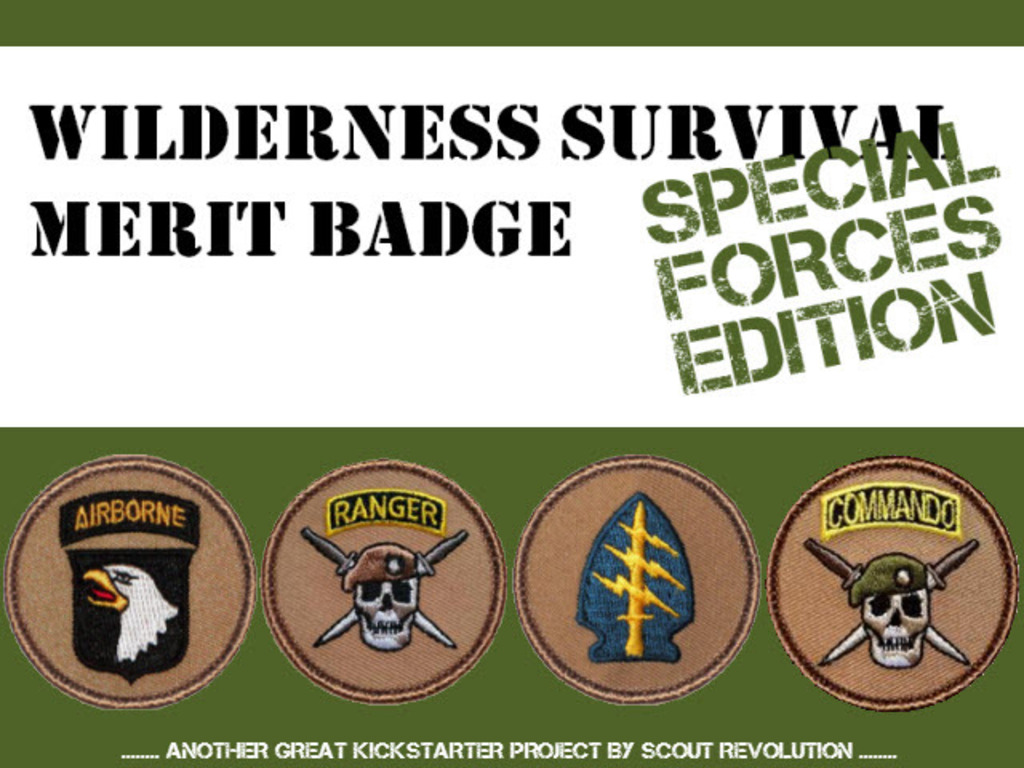 Wilderness Survival Merit Badge - Special Forces Edition's video poster