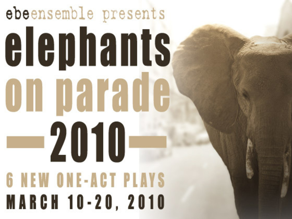 Help us develop new plays! Elephants on Parade 2010's video poster