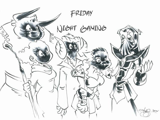 Friday Night Gaming Season 7 by Jack Wesker — Kickstarter