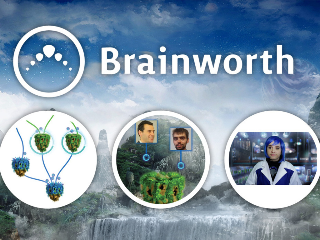 Brainworth: Play games that teach you to make games in HTML5's video poster