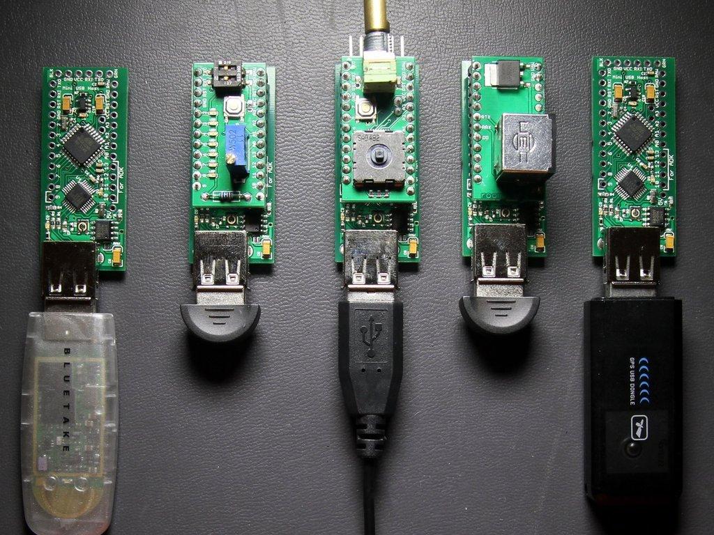 Mini USB Host Microcontroller Board (Arduino Compatible)'s video poster
