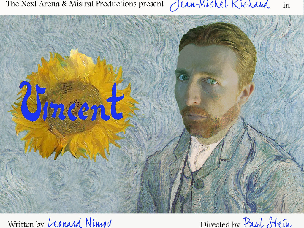 Vincent by Leonard Nimoy's video poster