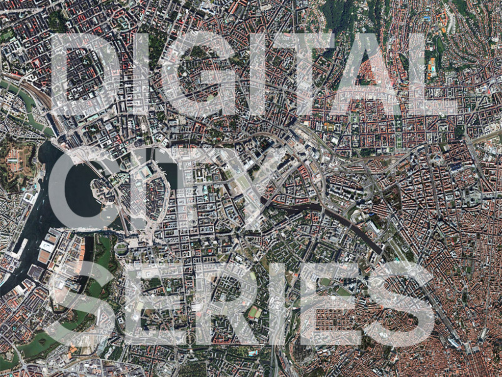 DIGITAL CITY SERIES - the book's video poster
