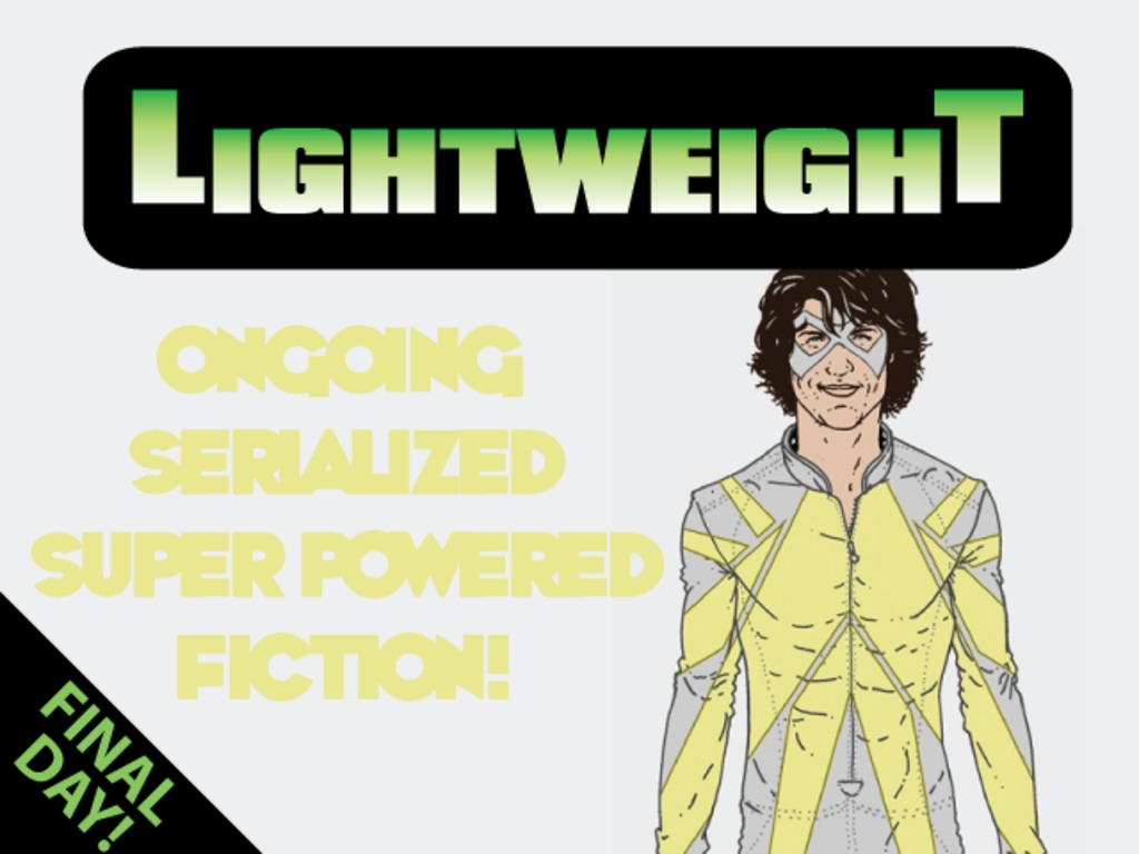 Lightweight - ongoing superhero fiction's video poster