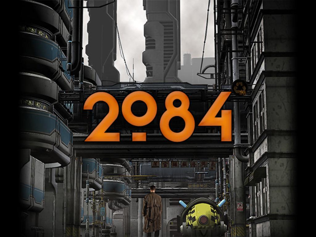"""2084""™  3D Graphic Novel App's video poster"