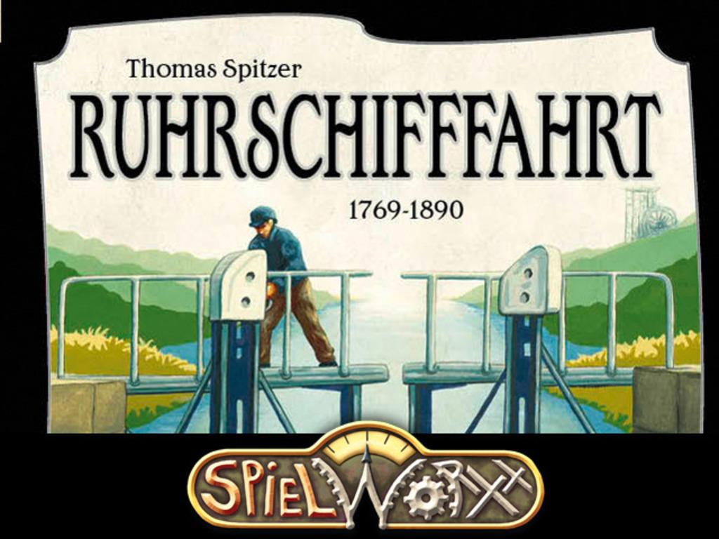 Ruhrschifffahrt (Ruhr River Barge Run)'s video poster