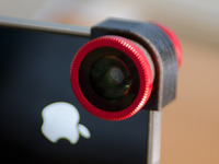 olloclip, lentille grand angle, macro et fisheye pour iPhone 4 [Test]