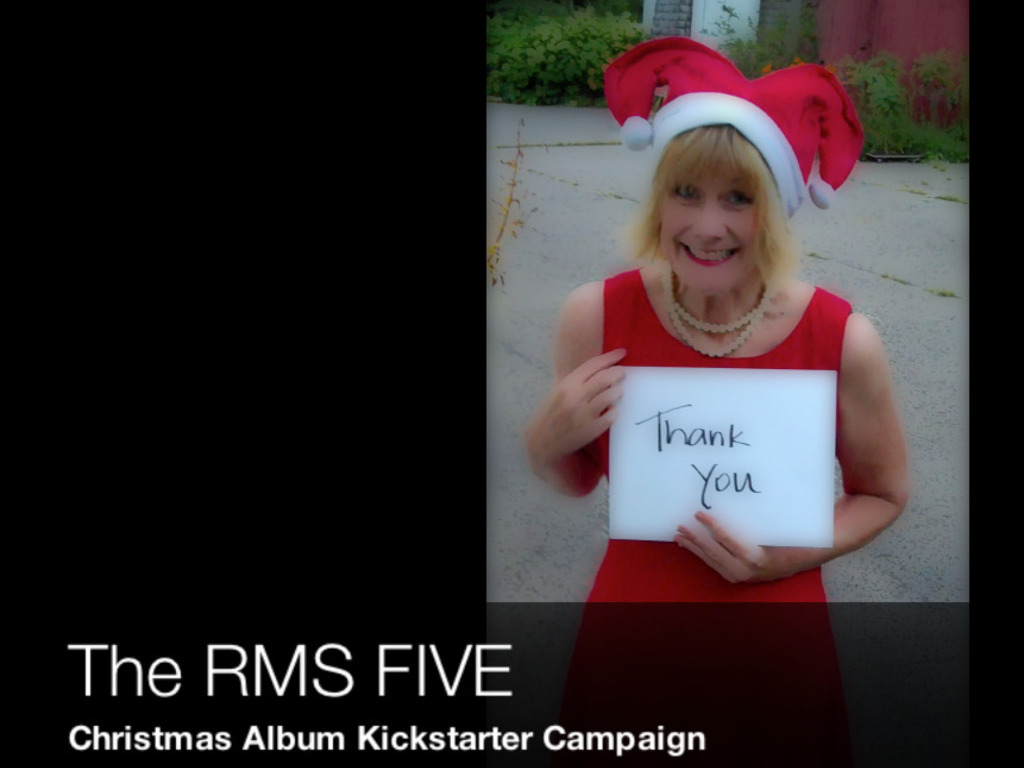 The RMS Five Christmas Album's video poster