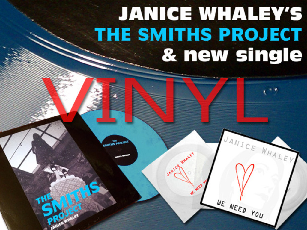 JANICE WHALEY ON VINYL: Smiths Project & Duran Duran cover's video poster