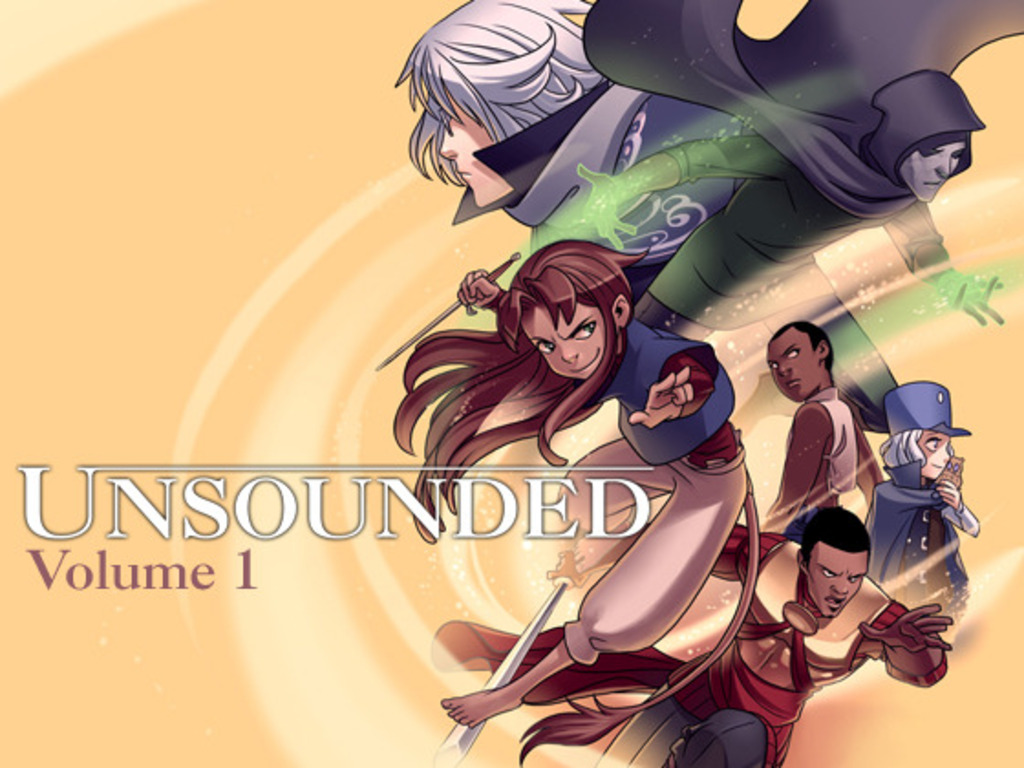 Unsounded Comic Volume 1's video poster