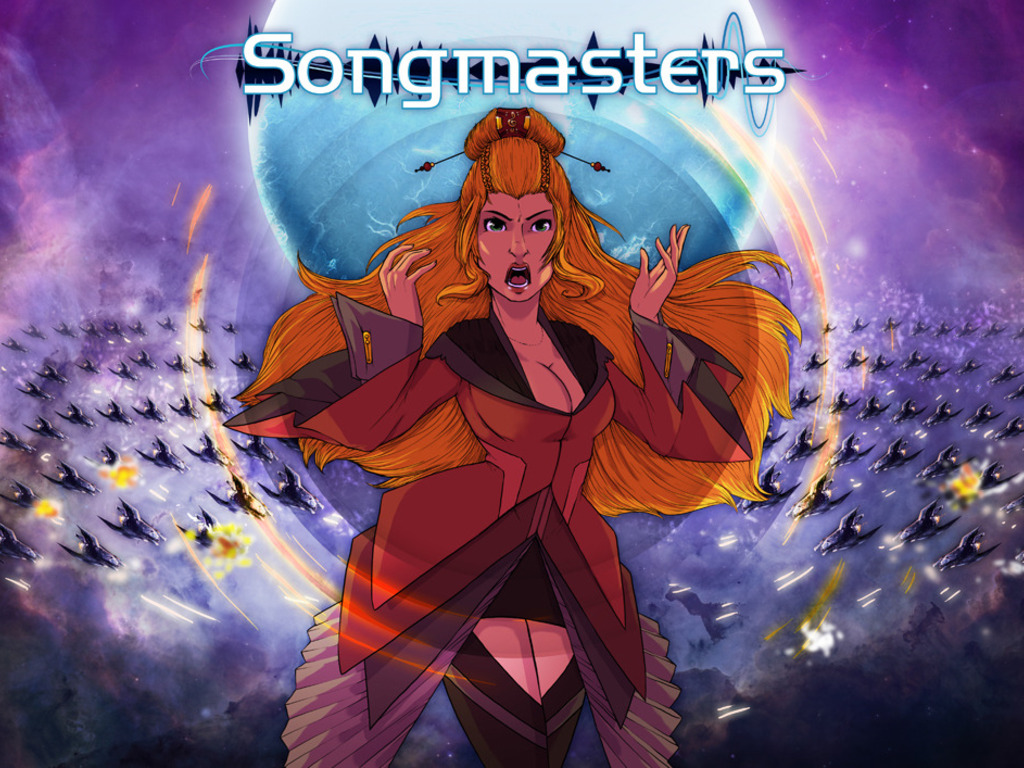 "Songmasters ""The Music Wars""'s video poster"