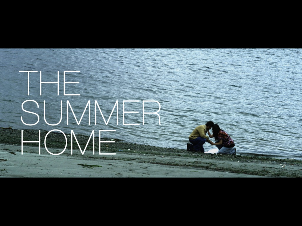 THE SUMMER HOME: finishing funds for a short film on the RED's video poster