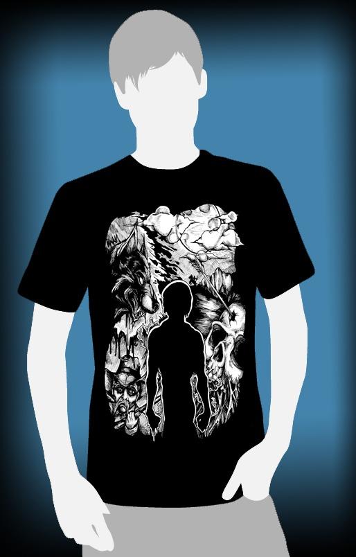 Exclusive t shirt and silk screen print image kickstarter for Silk screen t shirt